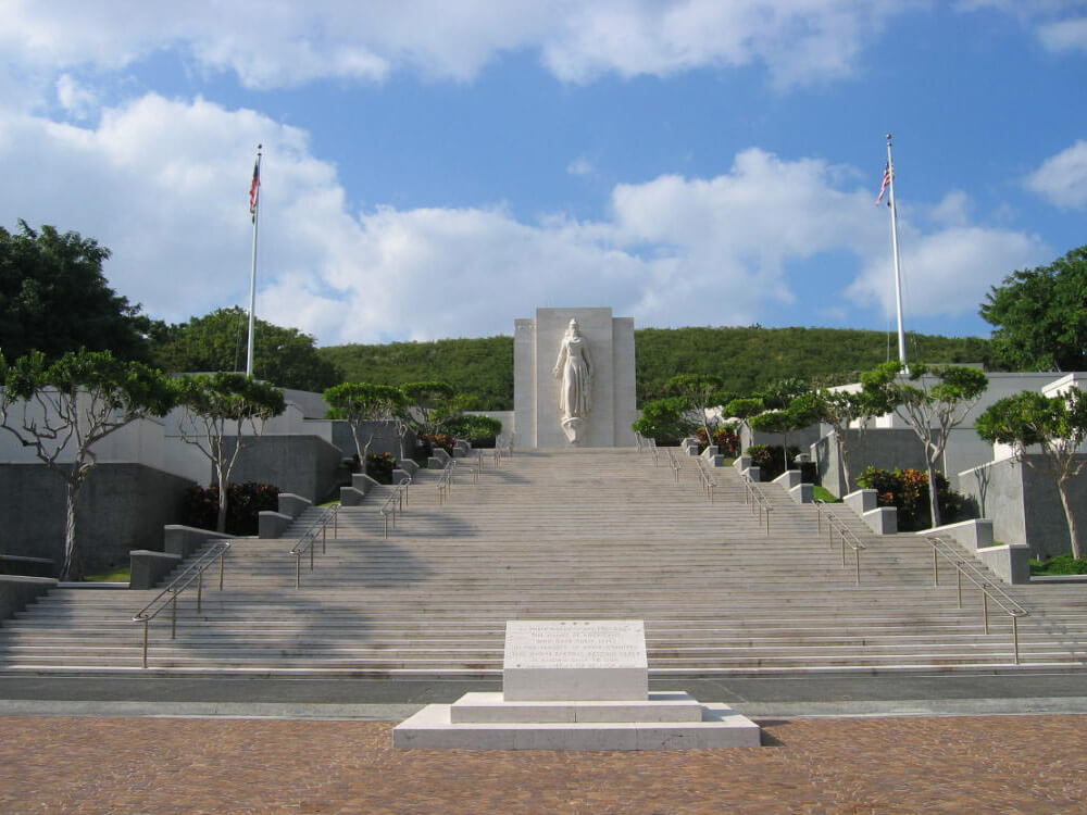 Beyond Pearl Harbor - Courts of the Missing, National Memorial Cemetery of the Pacific